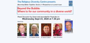 Panel 2 – Beyond the Bubble