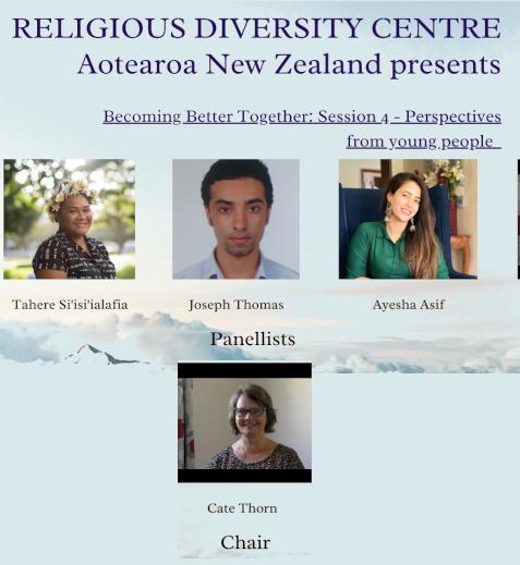 Panel 4 – Religious Diversity vs Religious Inclusivity