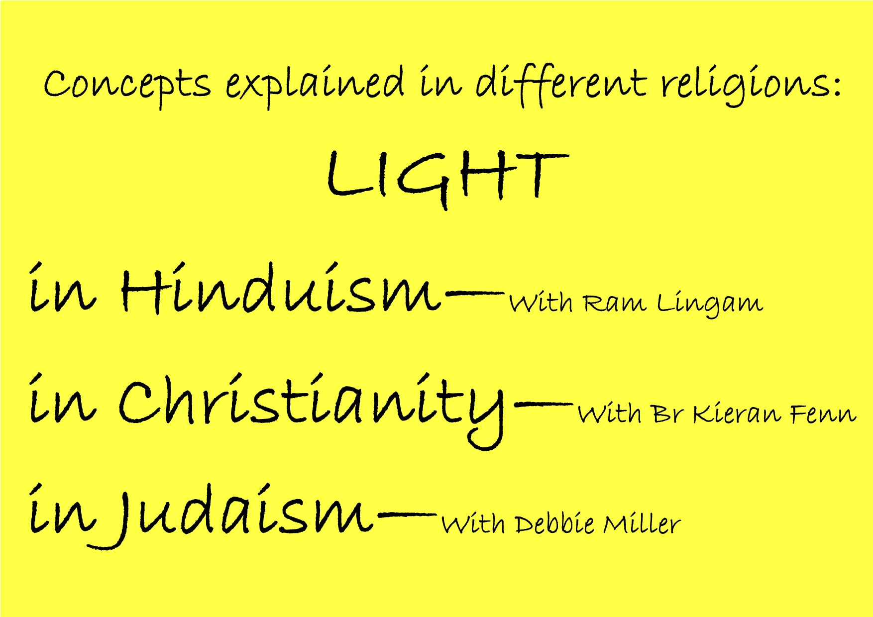 The meaning of Light