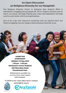 Workshop for Young Adults – Hamilton