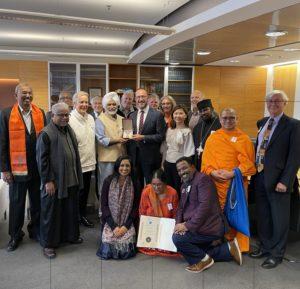 Wellington Interfaith Council receives international Prize