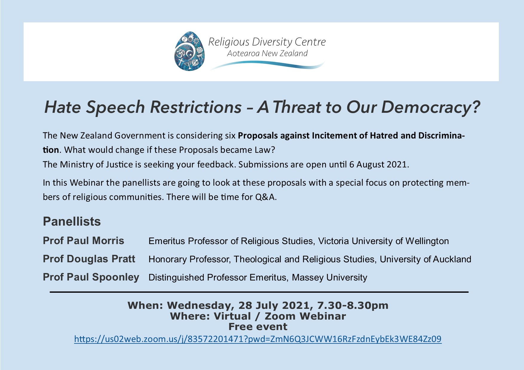 Hate Speech Restrictions – A Threat to Our Democracy?