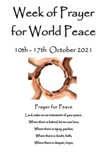 Week of Prayer for World Peace